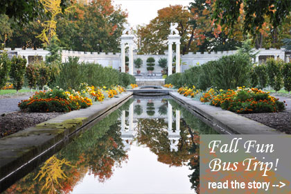 Fall Fun Bus Trip along the Hudson River October 18  - Read the story